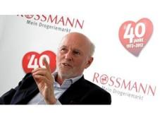 Dirk Roßmann, Chef der Drogeriekette ©Rossmann