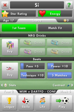 New Star Soccer © New Star Games