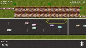Screenshot 1 - Dust Racing 2D