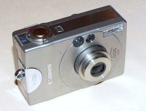 Canon Digital Ixus © Wikipedia