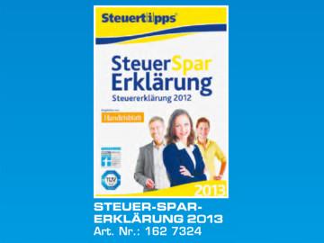 Akademische Arbeitsgemeinschaft Steuer-Spar-Erklärung 2013 ©Saturn