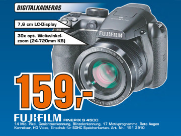 Fujifilm FinePix S4500 © Saturn
