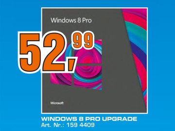 Microsoft Windows 8 Pro Upgrade (DE) © Saturn