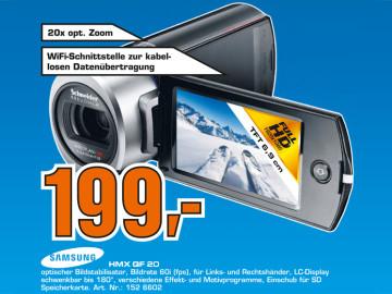 Samsung HMX-QF20 ©Saturn