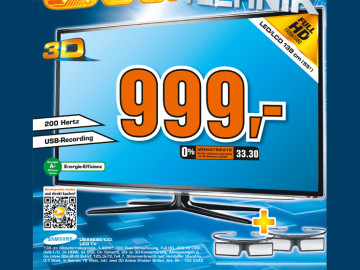 Samsung UE55ES6100 ©Saturn