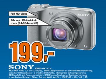 Sony Cyber-shot DSC-HX10V ©Saturn