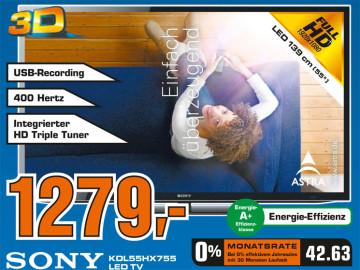Sony KDL-55HX755 ©Saturn