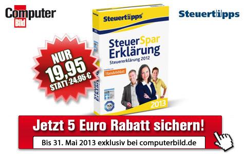 Steuer-Spar-Erklärung 2013 ©Akademische Arbeitsgemeinschaft Verlag