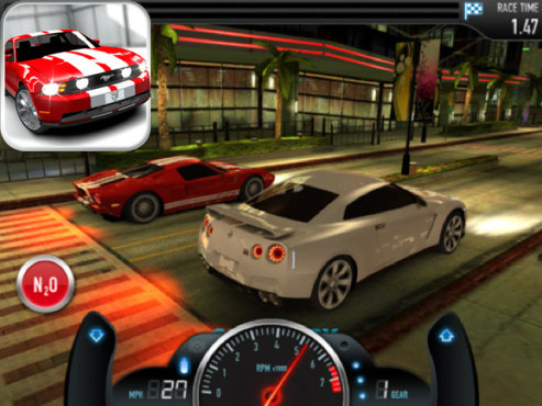 CSR Racing © NaturalMotion Games Ltd