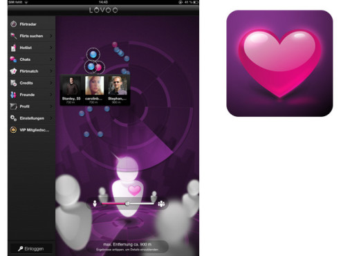 Lovoo – Flirt, Chat, Single App © Lovoo