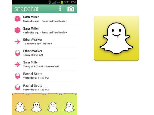 Snapchat ©Snapchat Inc.