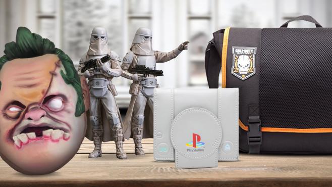 Spiele-Merchandise ©Get Digital, Spinning Hat, Together, Paladone, Elbenwald,  magdal3na - Fotolia.com