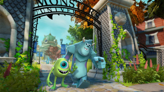Actionspiel Disney Infinity: Sulley und Mike © Disney / Pixar