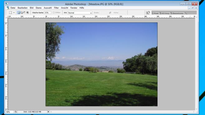 Photoshop CS2: Die Grundlagen Obwohl schon in die Jahre gekommen, erzielen Sie mit Photoshop CS2 gute Ergebnisse. ©COMPUTER BILD