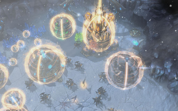 Starcraft 2 – Heart of the Swarm: Eis © Blizzard