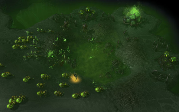 Starcraft 2 – Heart of the Swarm: Sümpfe © Blizzard