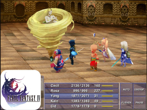 Final Fantasy 4 © Square Enix