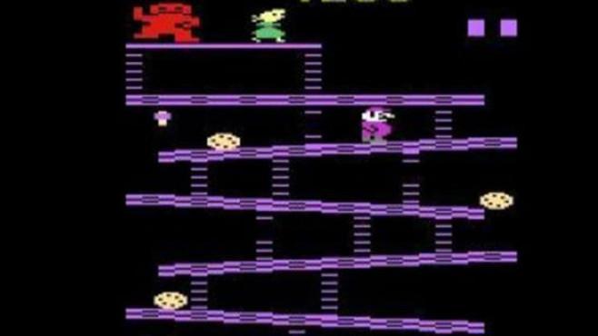 Geschicklichkeitsspiel Donkey Kong: Mario ©Coleco / Nintendo