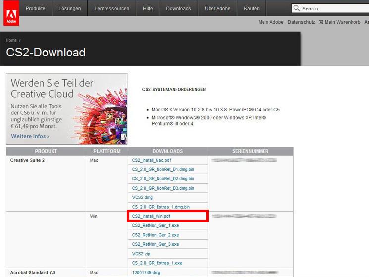 Adobe Photoshop CS2 Serial Number Crack Keygen Download