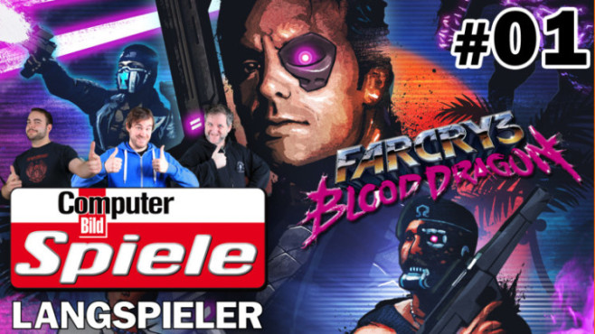 CBS Langspieler: Far Cry 3 – Blood Dragon #1 © Ubisoft