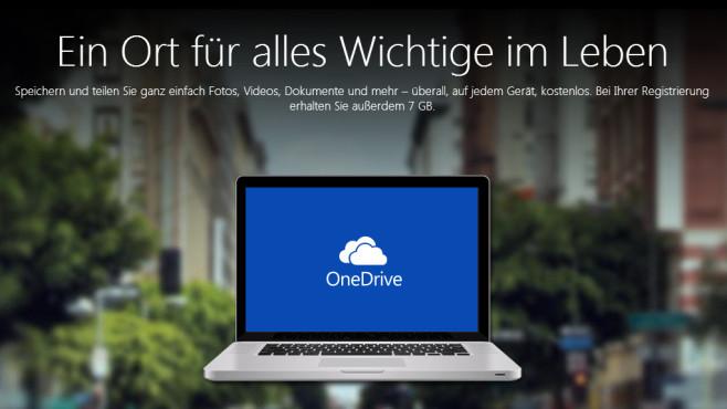 Microsoft OneDrive: So nutzen Sie den Cloud-Speicher ©Microsoft