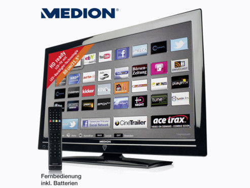 Medion Life P15118 (MD 30628) LED-TV © Aldi Nord