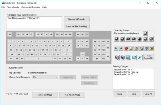 KeyTweak ©Bleeping Computer