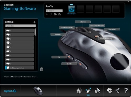 Logitech Gaming Software © Logitech