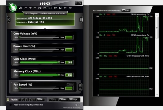 MSI Afterburner © MSI Technology