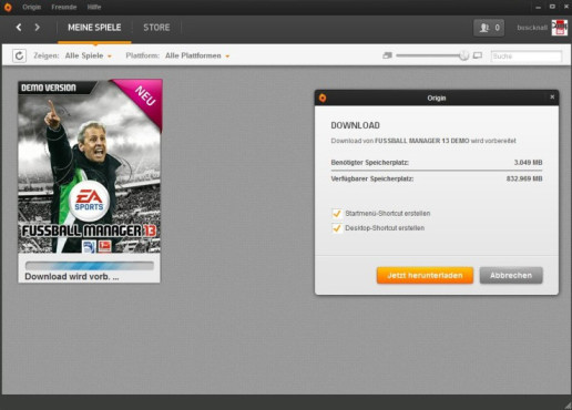 Origin © Electronic Arts