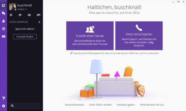 Twitch Desktop-App ©Twitch