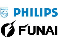 Logos von Philips und Funai ©Montage: COMPUTER BILD