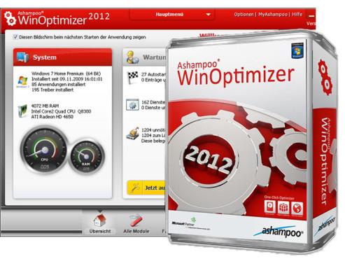 Ashampoo WinOptimizer 2012 ©COMPUTER BILD