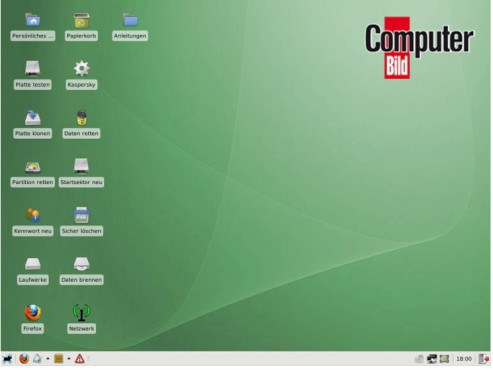 COMPUTER BILD-Notfall-CD