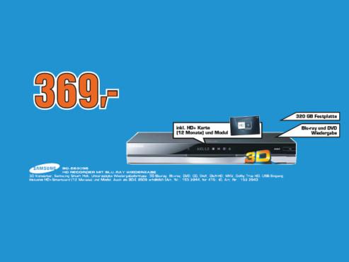 Samsung BD-E8309S ©Saturn