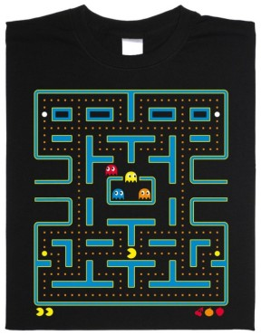 T-Shirt: Pac-Man © getdigital.de