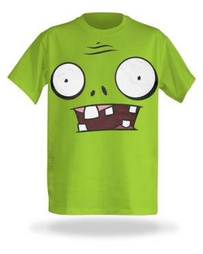 T-Shirt: Plants vs. Zombies © thinkgeek.com