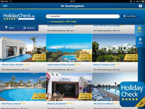 HolidayCheck HD ©HolidayCheck AG