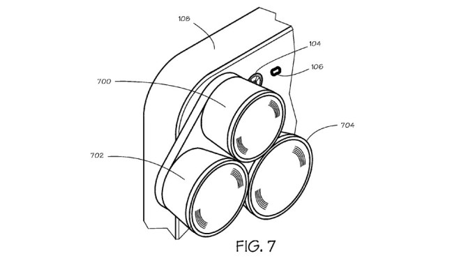 Grafik aus einem Patent von Apple © Apple / U.S. Patent and Trademark Office