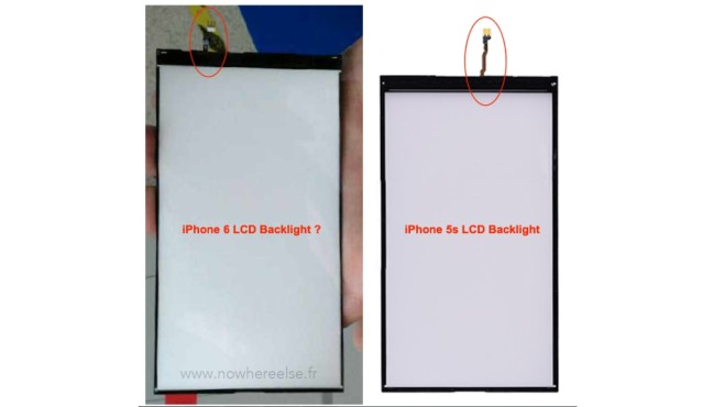 iPhone 6 Backlight Panel