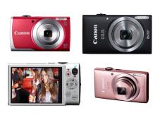 Vier neue Canon-Kompaktkameras ©Canon