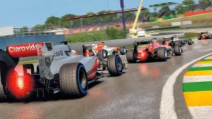 Rennspiel F1 2013: Schikane ©Codemasters