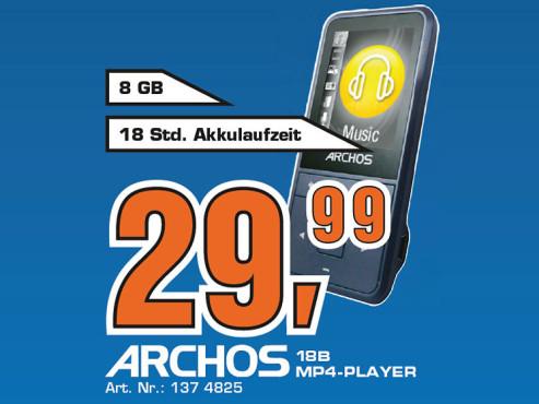 Archos 18B Vision 8GB ©Saturn