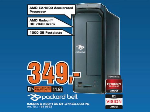 Packard Bell iMedia S A3911 GE DT.U7KEG.003 ©Saturn