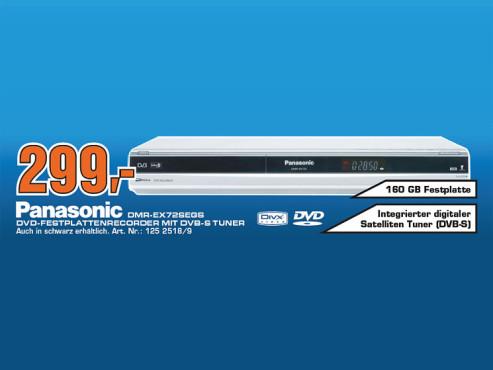 Panasonic DMR-EX72S ©Saturn