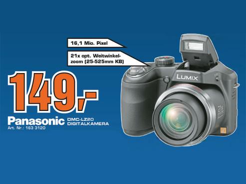 Panasonic Lumix DMC-LZ20 ©Saturn