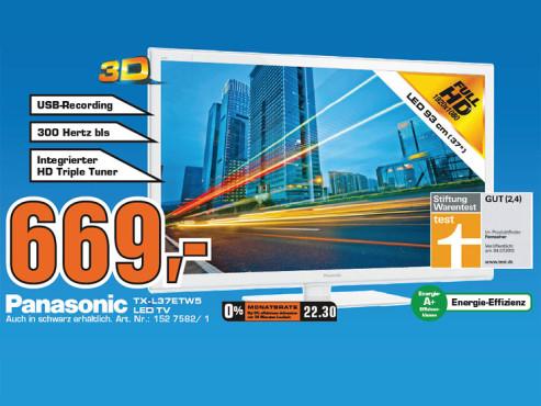 Panasonic TX-L37ETW5 ©Saturn