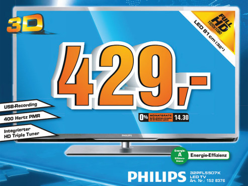 Philips 32PFL5507K © Saturn