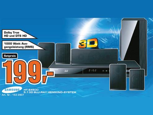 Samsung HT-E4500 ©Saturn