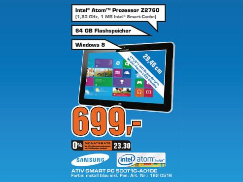 Samsung XE500T1C A01 Ativ Smart PC ©Saturn
